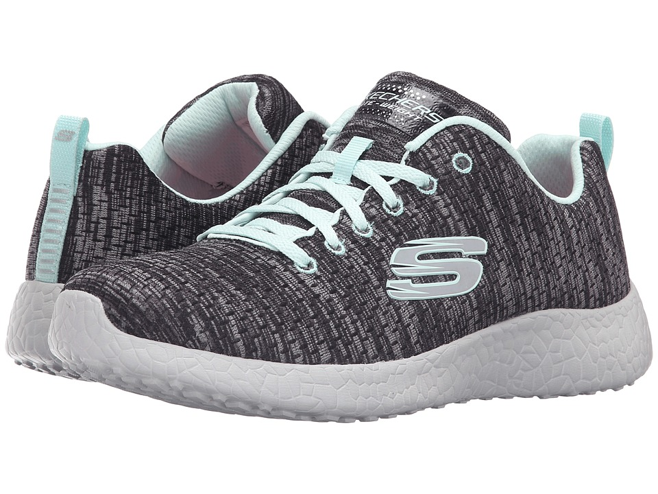 SKECHERS - Burst - New Influence (Black/Blue) Women's Shoes