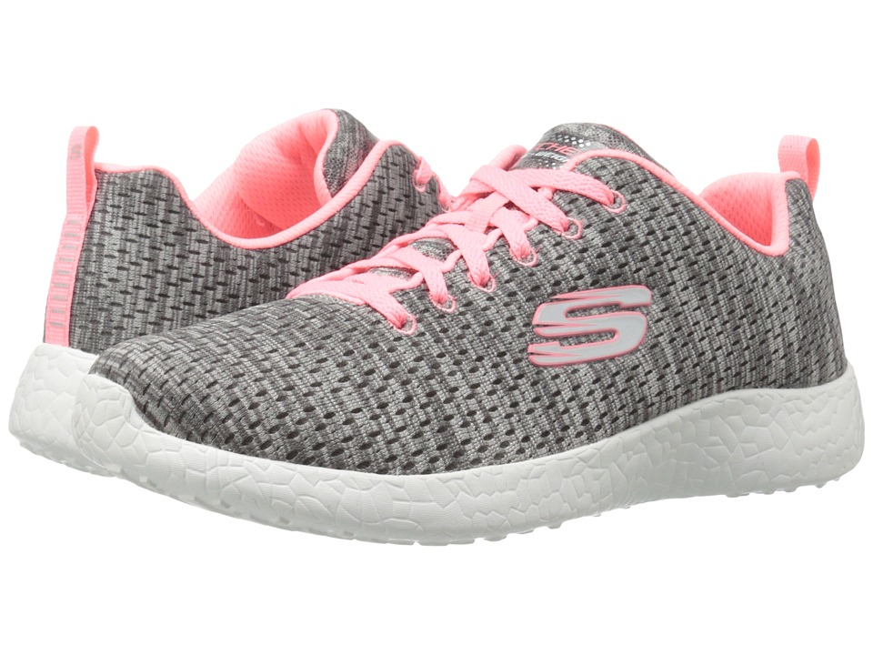 SKECHERS - Burst - New Influence (Gray) Women's Shoes