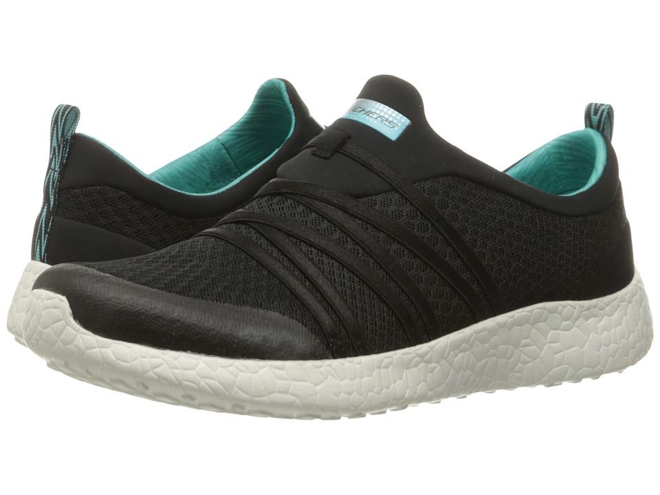 SKECHERS - Burst - Very Daring (Black/Blue) Women's Shoes