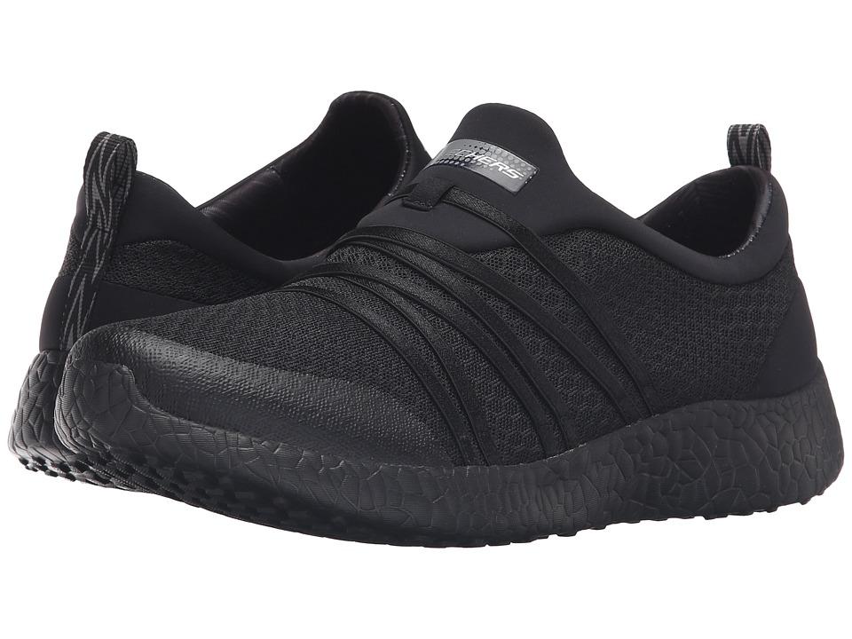 SKECHERS - Burst - Very Daring (Black) Women's Shoes