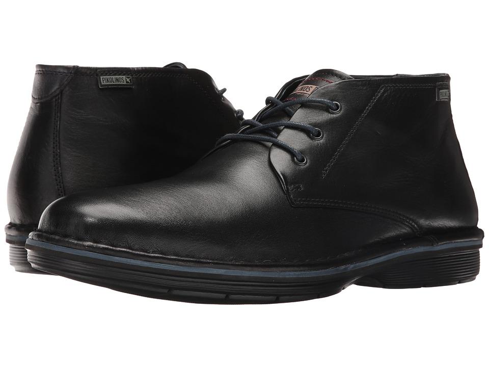Pikolinos - Lugo M1F-8093 (Black) Men's Shoes