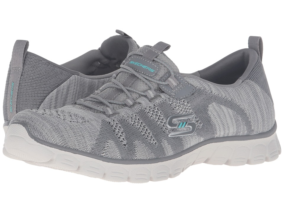 SKECHERS - EZ Flex 3.0 - Take-The-Lead (Gray) Women's Shoes