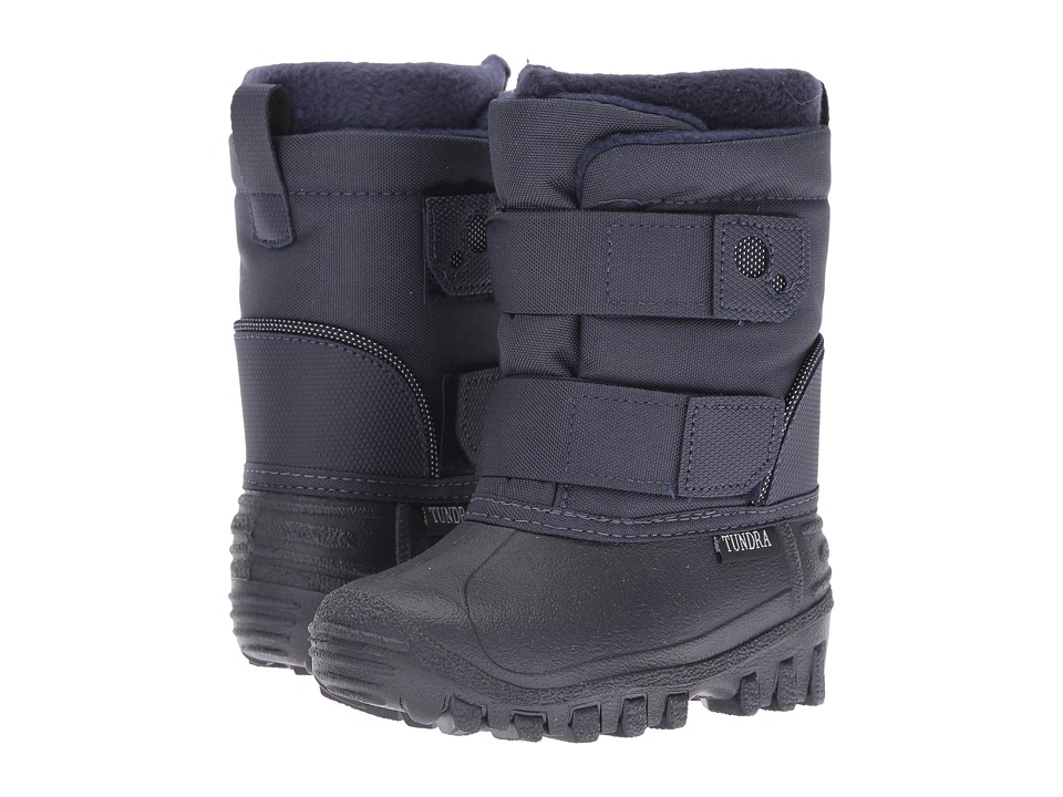 Tundra Boots Kids - Explorer (Toddler/Little Kid) (Navy) Boys Shoes