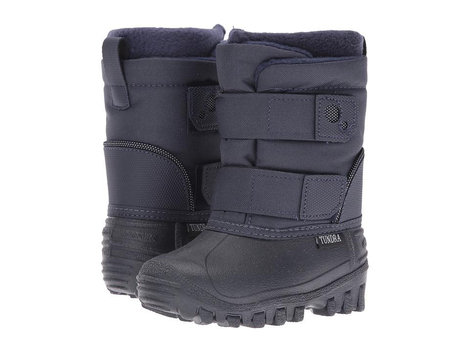 Tundra Boots Kids - Explorer (Toddler/Little Kid) (Navy) Boys Shoes