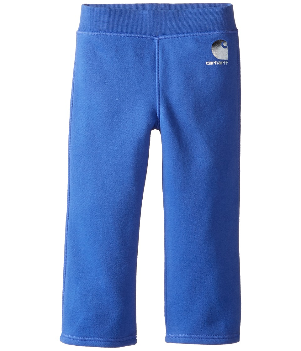 Carhartt Kids - Brushed Fleece Pants (Infant) (Amparo Blue) Girl's Casual Pants