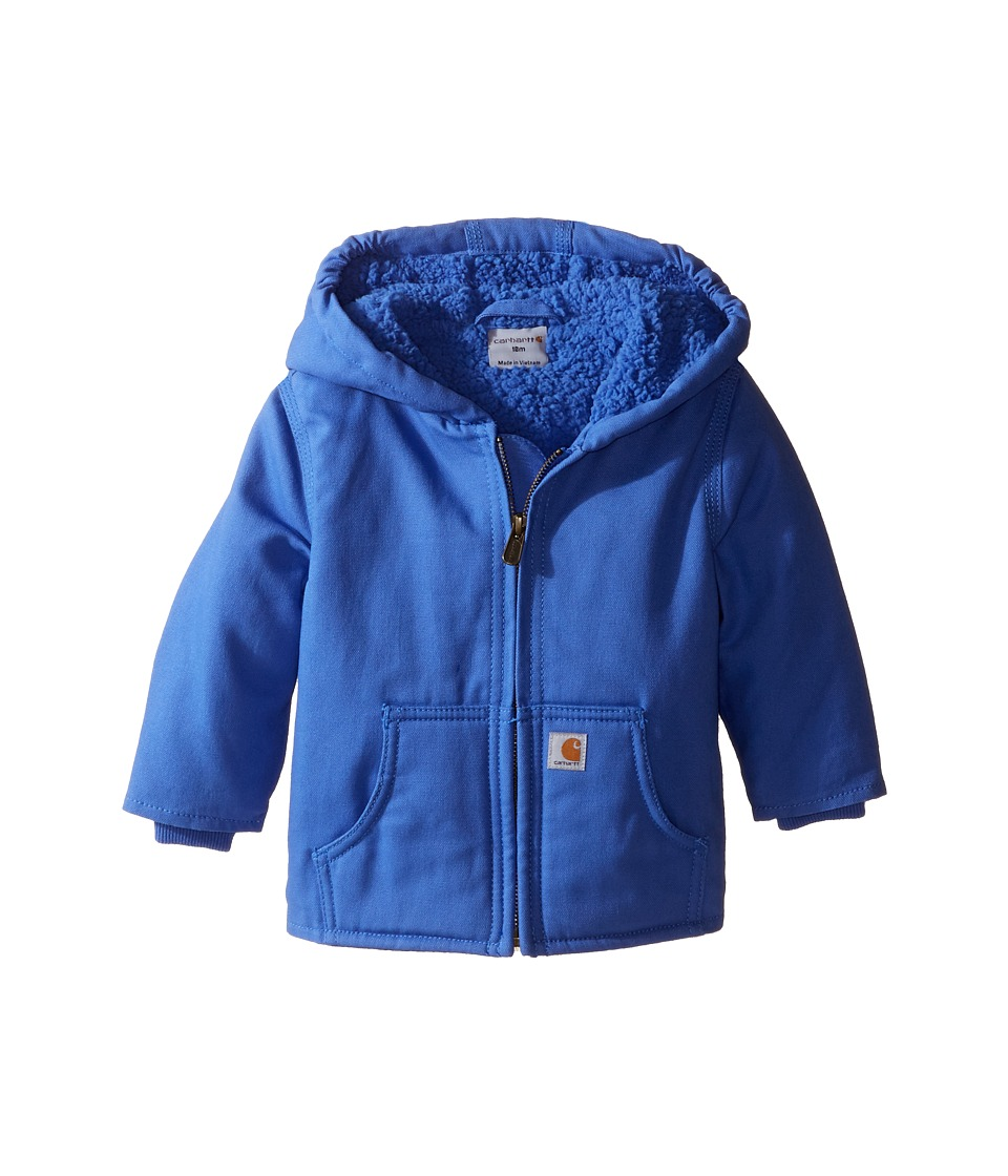 Carhartt Kids - Redwood Jacket (Infant) (Amparo Blue) Girl's Coat