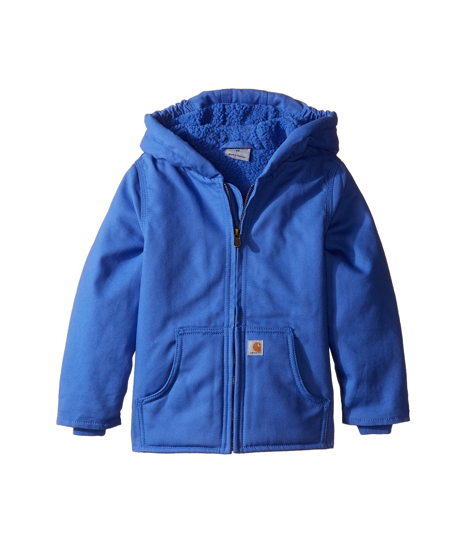 Carhartt Kids - Redwood Jacket (Toddler) (Amparo Blue) Girl's Coat
