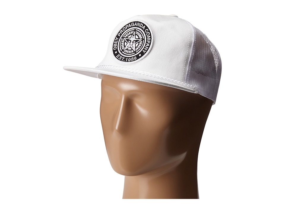 Obey - Giant Trucker (White) Caps