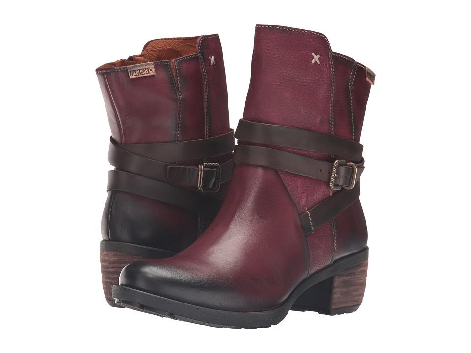 Pikolinos - Le Mans 838-8730 (Garnet) Women's Shoes