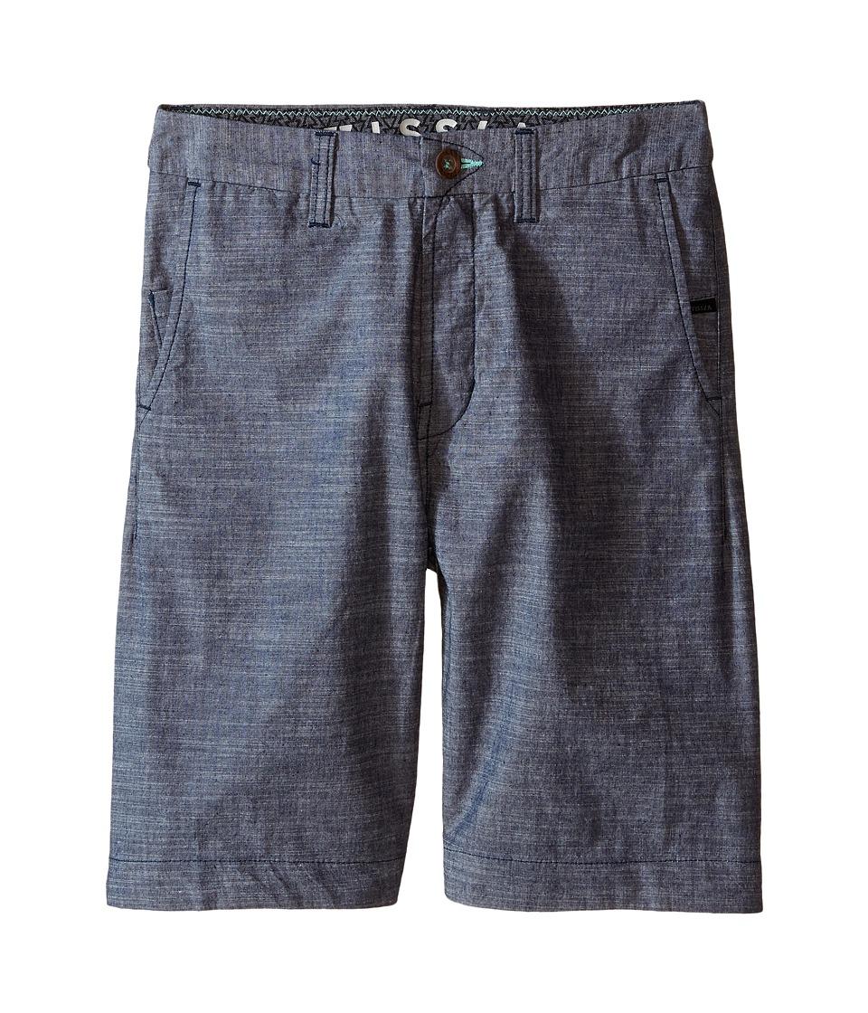 VISSLA Kids - No See Ums (Big Kids) (Navy) Boy's Shorts