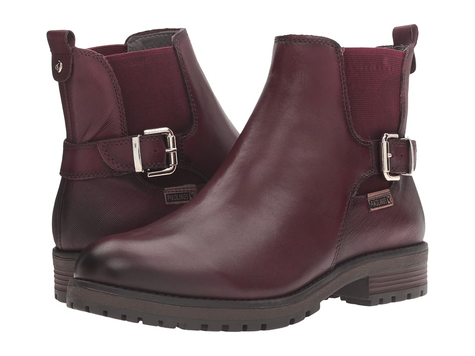 Pikolinos - Santander W4J-8781 (Garnet) Women's Shoes