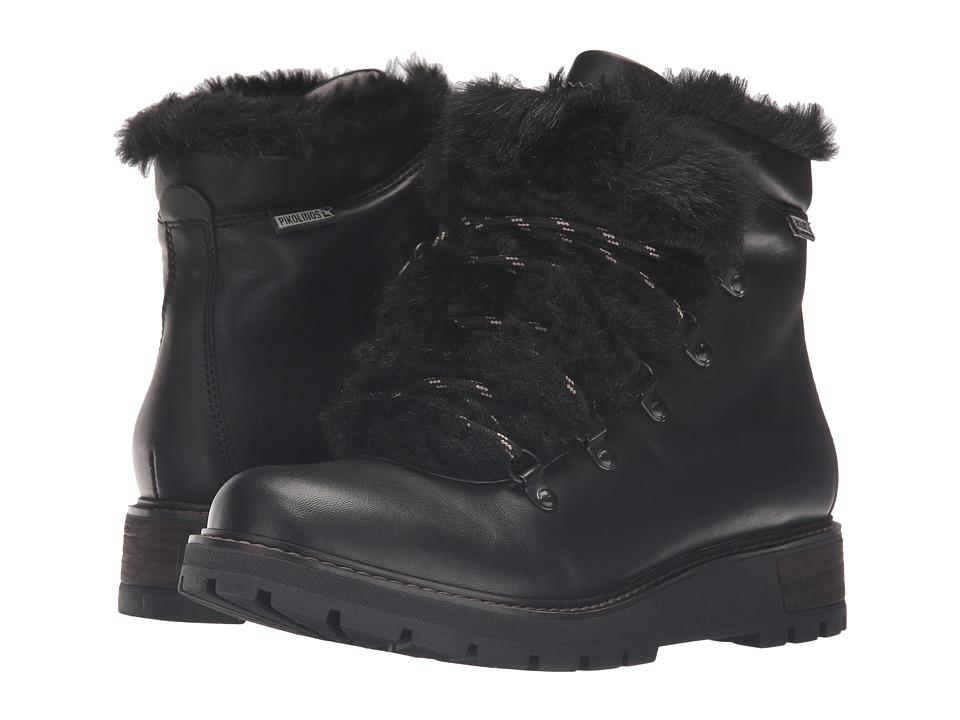 Pikolinos - Avila W6H-ML8748 (Black) Women's Shoes