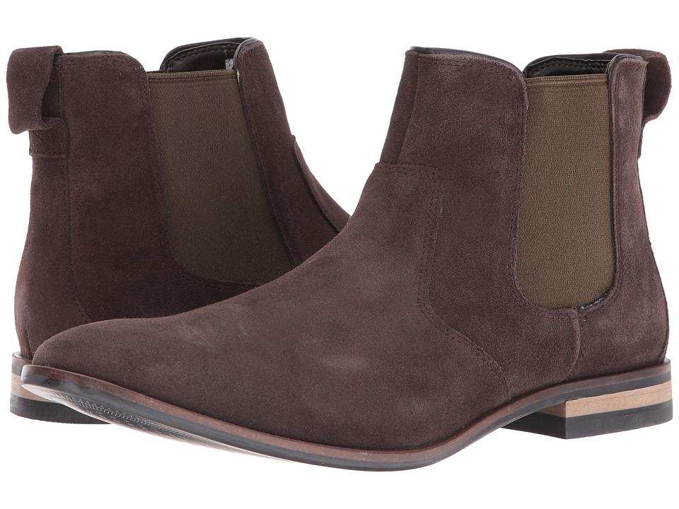 Rockport - Birch Lake Chelsea (Dark Bitter Chocolate Suede) Men's Shoes
