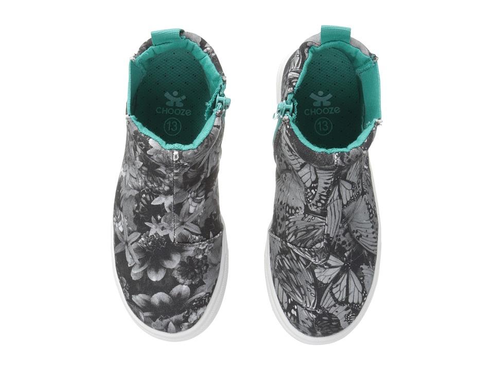 CHOOZE - Rocket (Toddler/Little Kid/Big Kid) (Ascend Black/White) Girl's Shoes