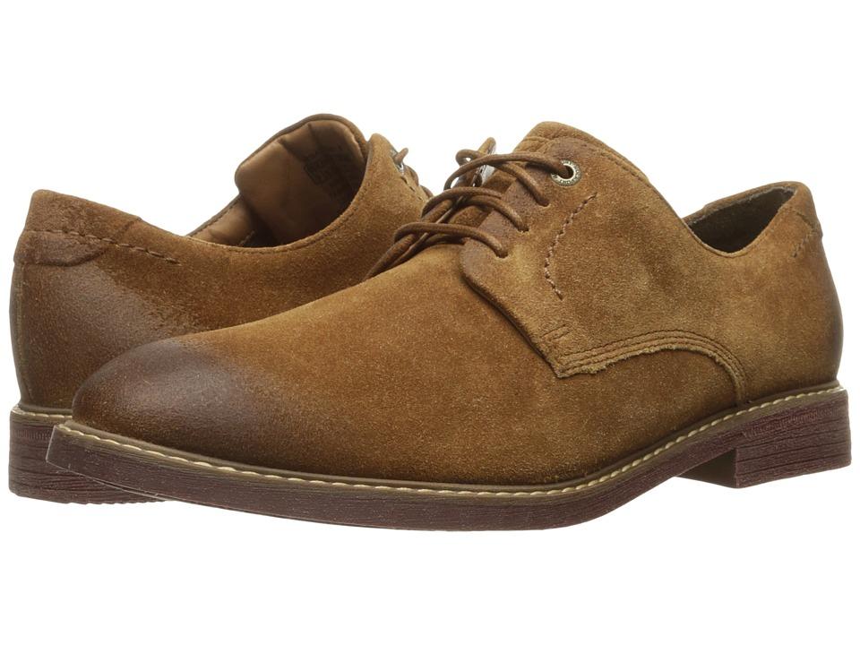 Rockport Classic Break Plain Toe (Cognac Suede) Men