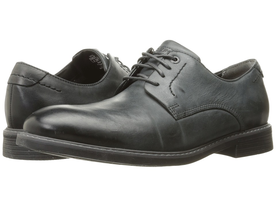 Rockport Classic Break Plain Toe (Dark Shadow Leather) Men