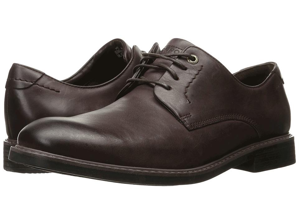 Rockport - Classic Break Plain Toe (Chocolate) Men's Shoes