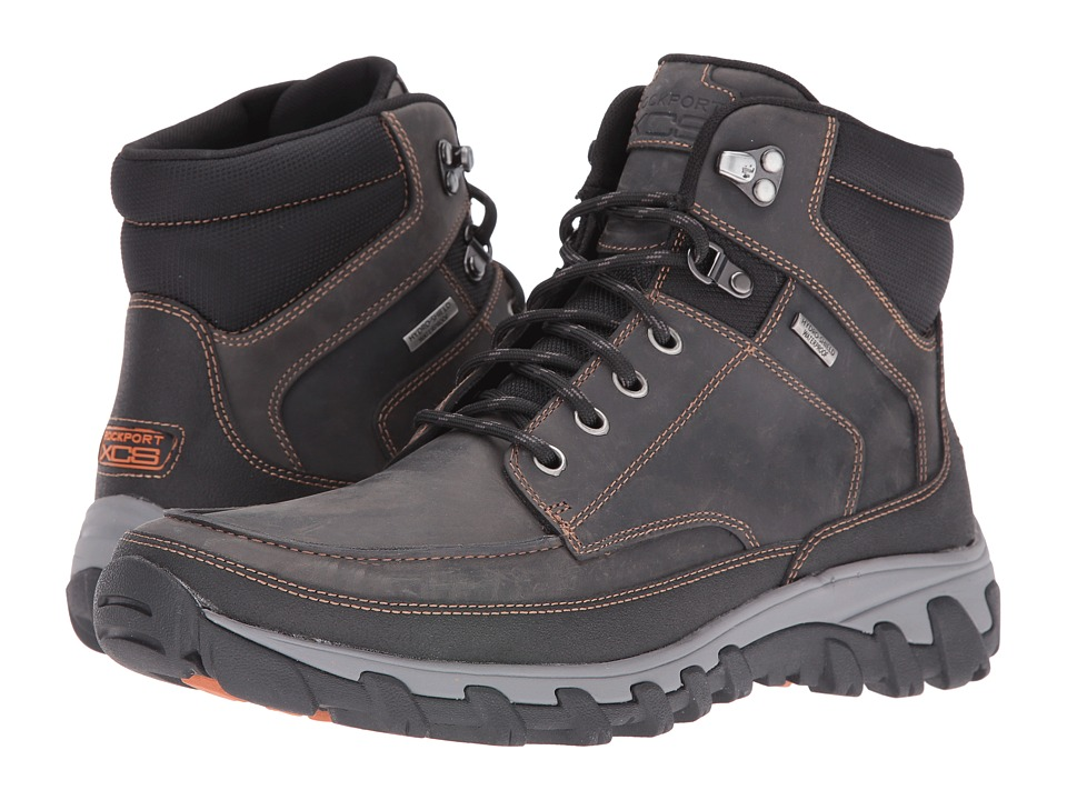 Rockport - Cold Springs Plus Moc Boot (Castlerock Grey) Men's Boots
