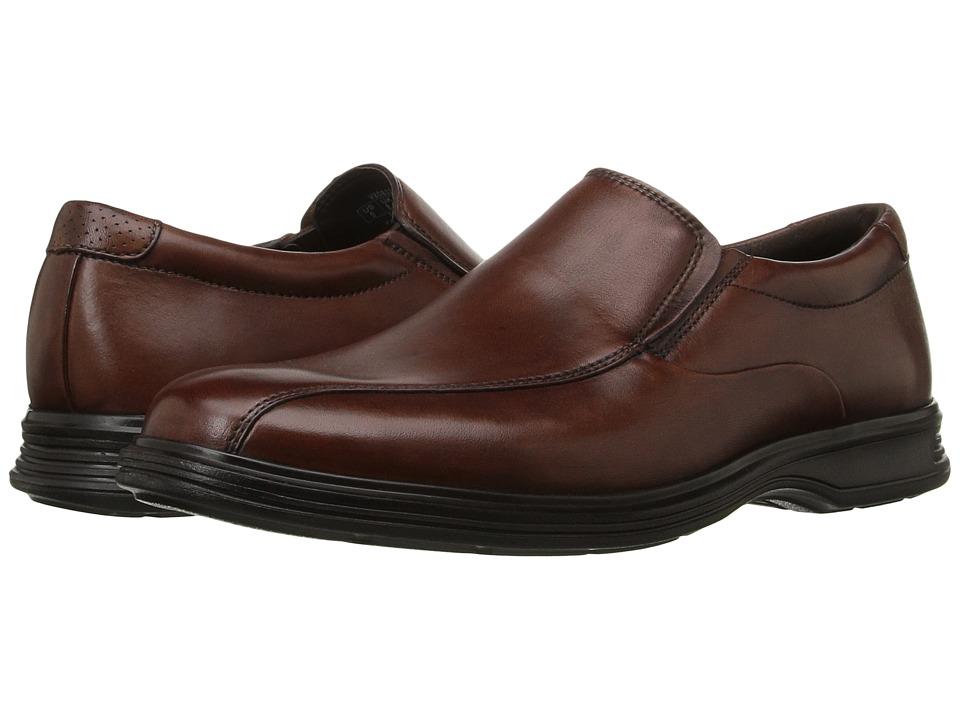 Rockport Dressports 2+ Light Slip On (New Brown Leather) Men