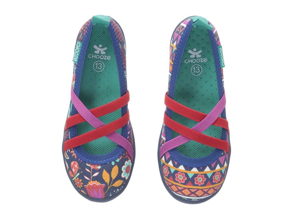 CHOOZE - Twist (Toddler/Little Kid/Big Kid) (Boho) Girl's Shoes