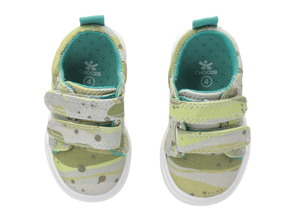 CHOOZE - Little Choice (Toddler/Little Kid) (Camo Green) Boy's Shoes