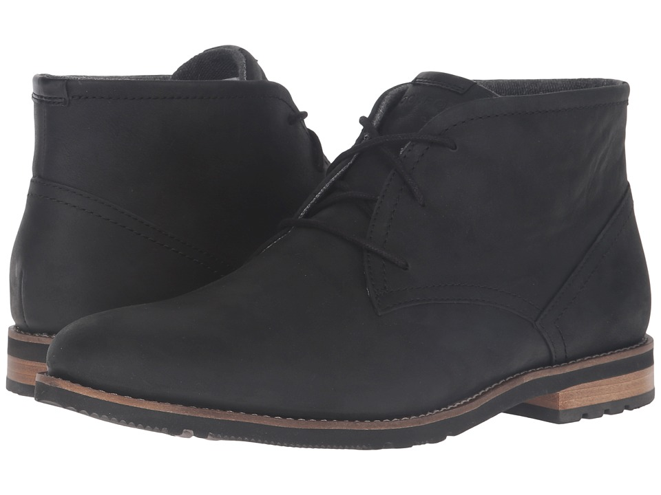 Rockport - Ledge Hill 2 Chukka (Black) Men's Shoes