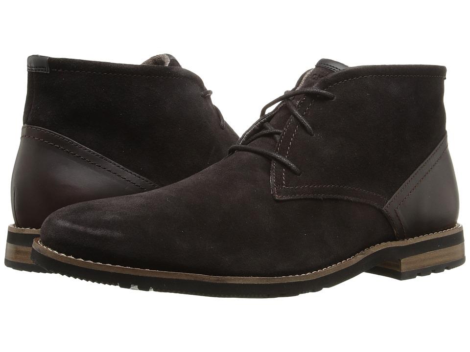 Rockport - Ledge Hill 2 Chukka (Dark Bitter Chocolate) Men's Shoes