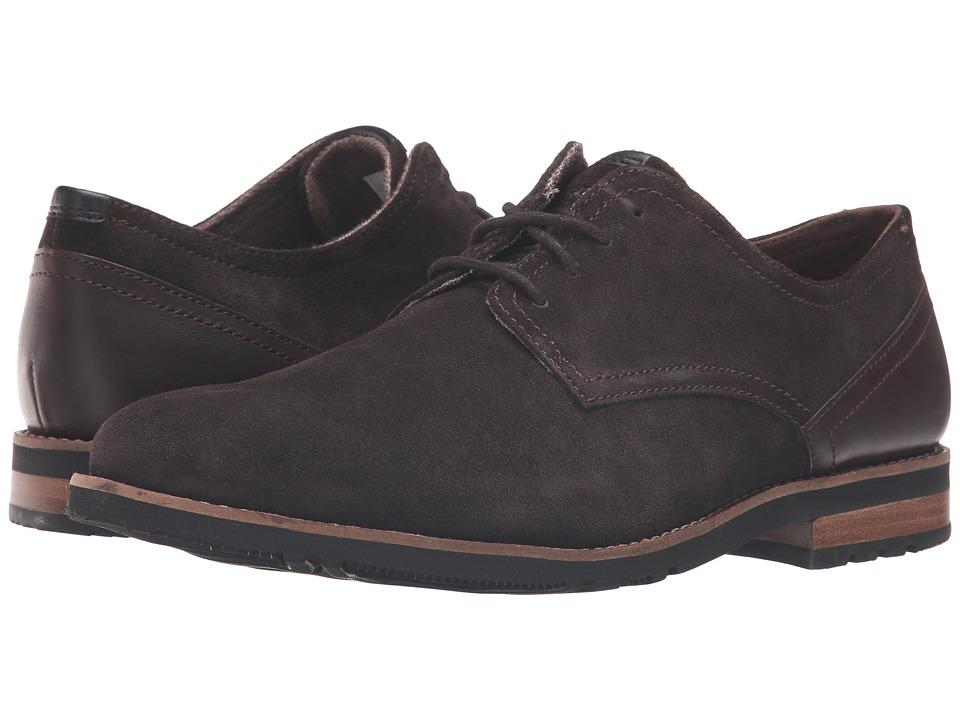 Rockport Ledge Hill 2 Plain Toe Oxford (Dark Bitter Chocolate) Men