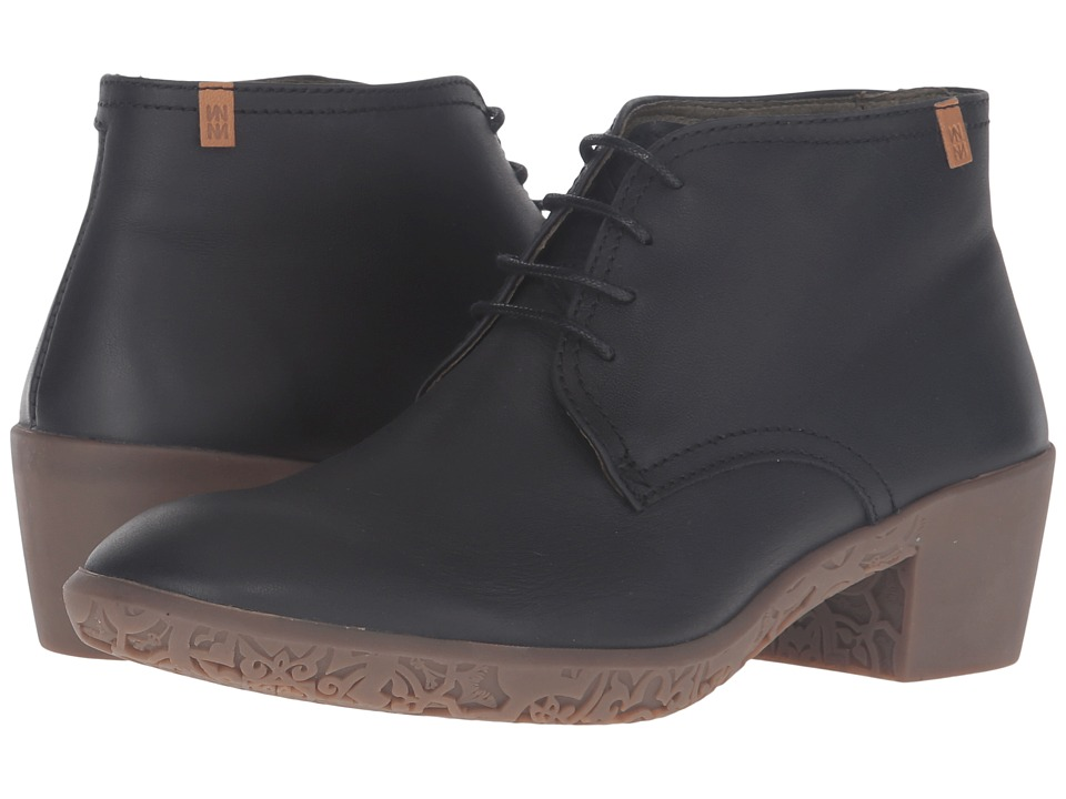 El Naturalista - Alhambra NG11 (Black) Women's Shoes