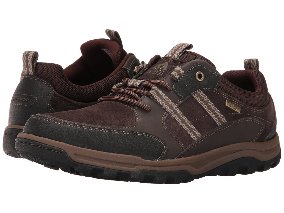 Rockport - Trail Technique Waterproof 3-Eye (Light Chocolate) Men's Shoes