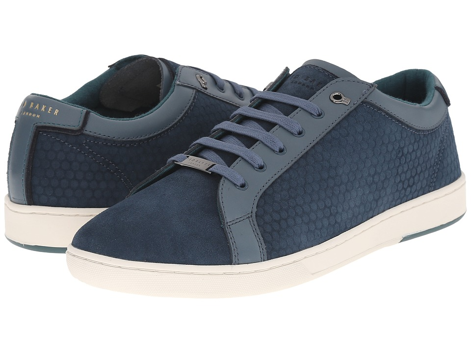 Ted Baker - Slowne (Blue Suede) Men's Shoes