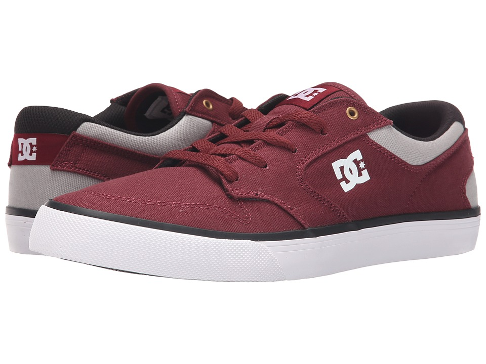 DC - Argosy Vulc TX (Maroon) Men's Lace up casual Shoes