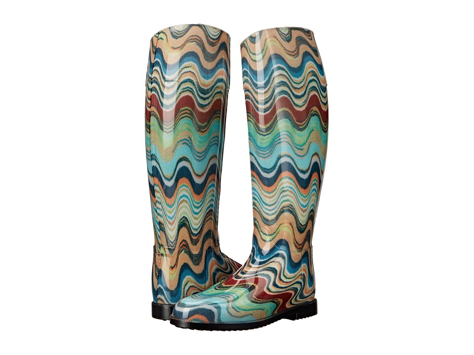 Missoni Rain Boot (Blue) Women