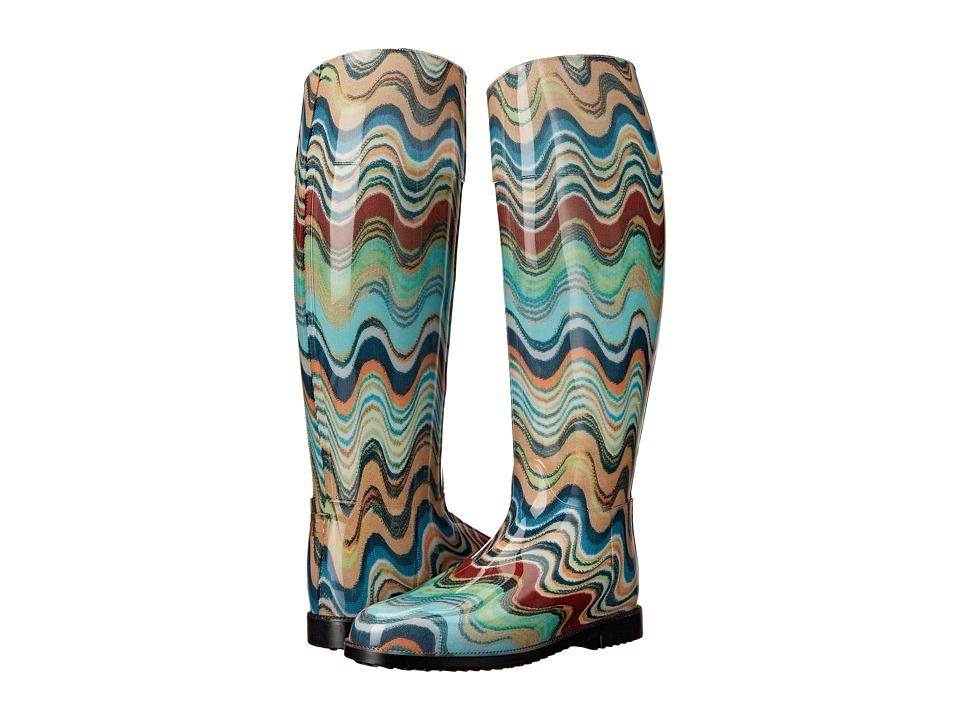 Missoni - Rain Boot (Blue) Women's Rain Boots