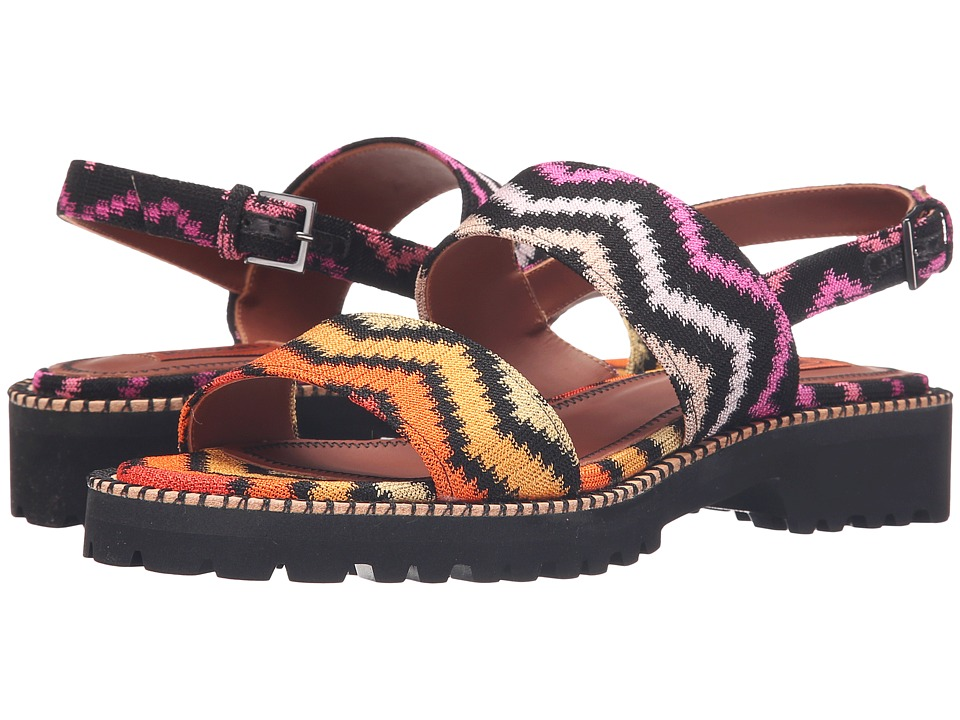 Missoni - Double Band Flat Sandal (Multi) Women's Sandals