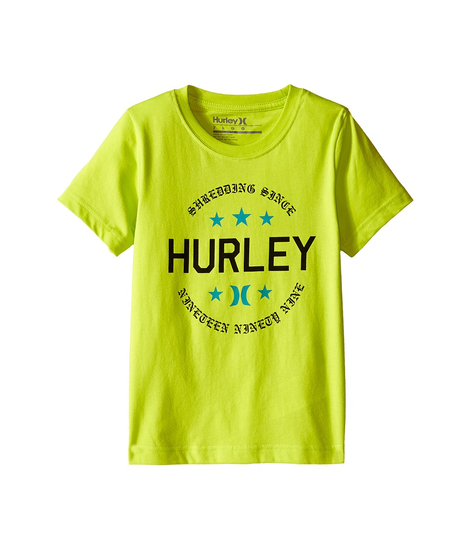 Hurley Kids - Simple Man Tee (Little Kids) (Cyber) Boy's T Shirt