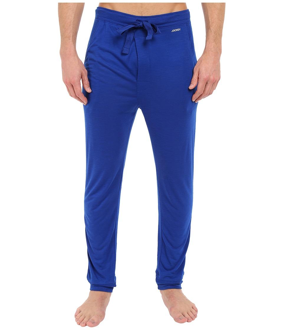 Jockey - Jogger Lounge Pants (Strong Blue) Men's Pajama