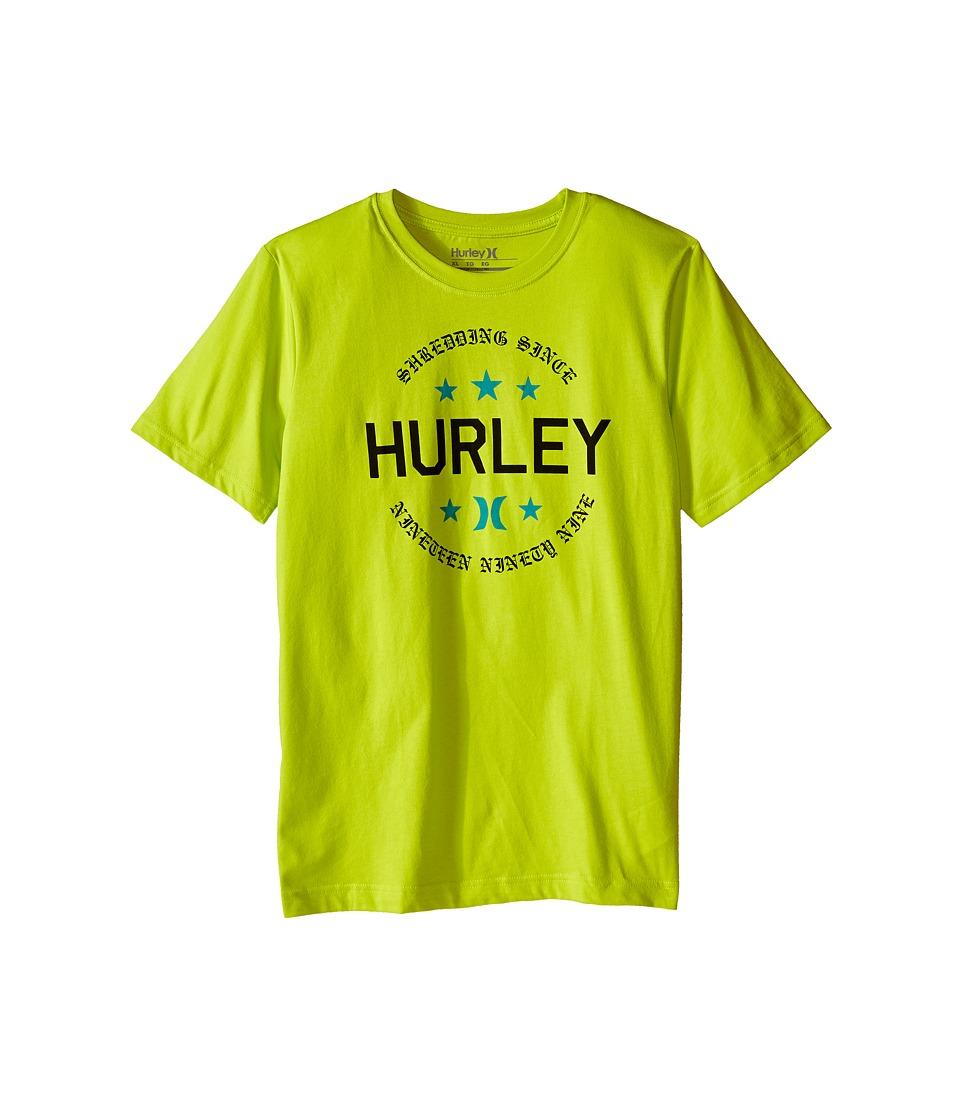 Hurley Kids Simple Man Tee (Big Kids) (Cyber) Boy