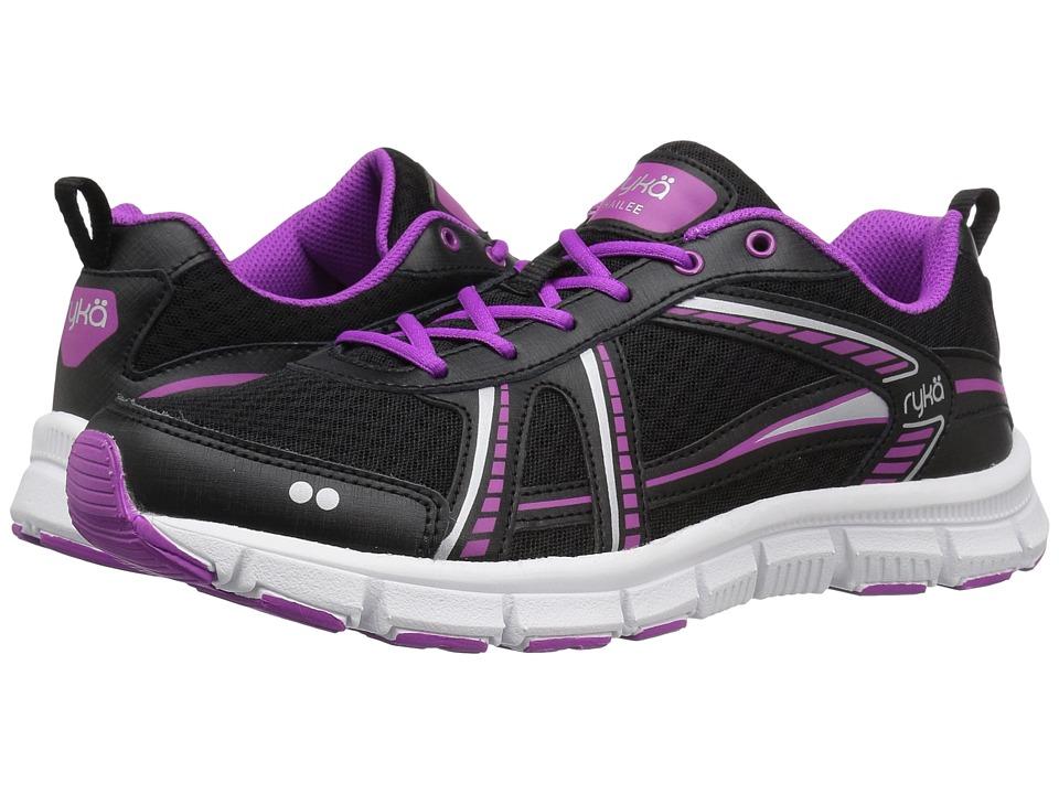 Ryka - Hailee SMT (Black/Silver/Plum) Women's Shoes