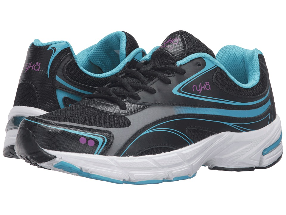 Ryka - Infinite SMW (Black/Bluebird/Plum) Women's Shoes