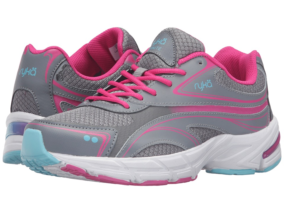 Ryka - Infinite SMW (Grey/Pink/Pink) Women's Shoes