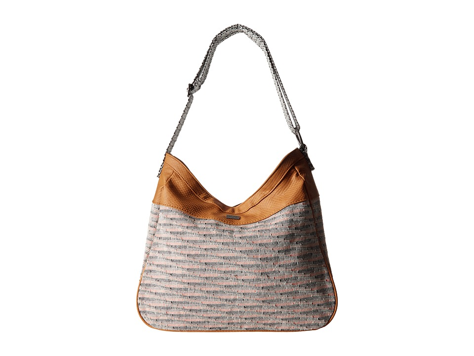 Roxy - Sky And Sand A Shoulder Handbag (Bone Brown) Shoulder Handbags