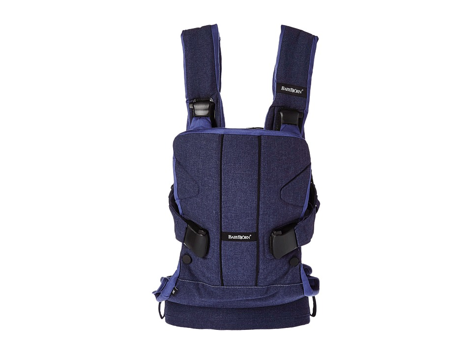 BabyBjorn - Baby Carrier ONE (Denim Blue) Carriers Travel
