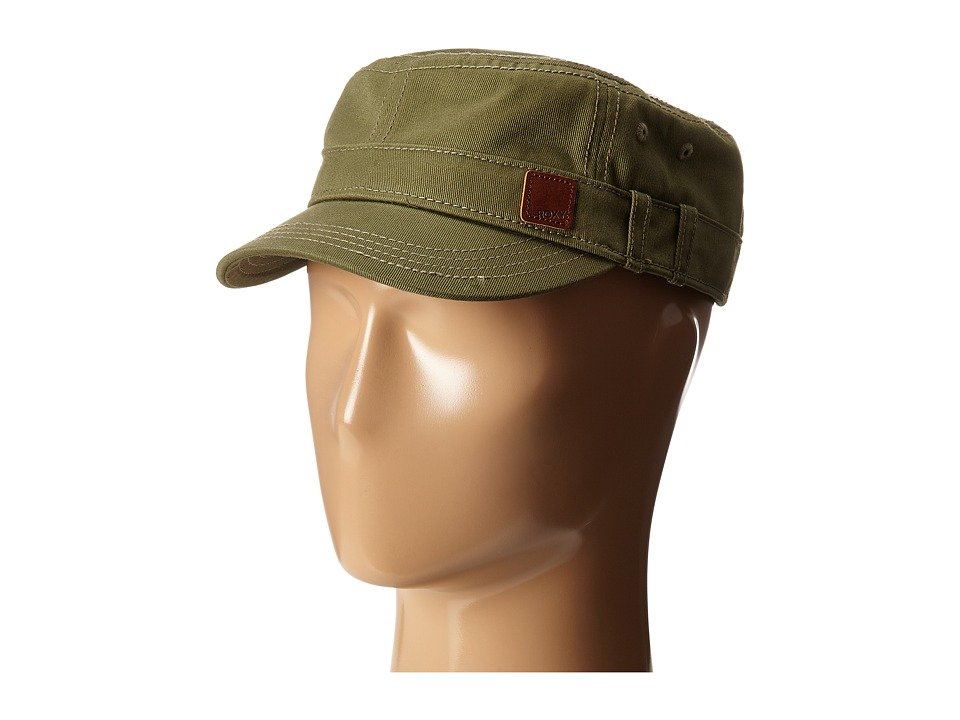 Roxy - Castro Cap (Military Olive) Baseball Caps