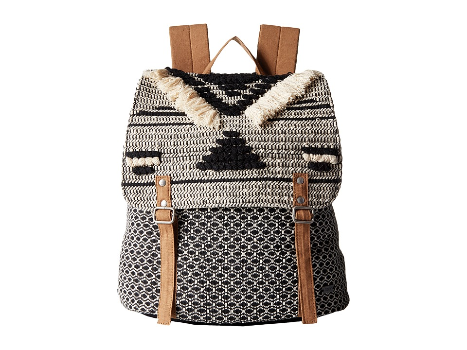 Roxy - Savanna Cay Backpack (True Black) Backpack Bags