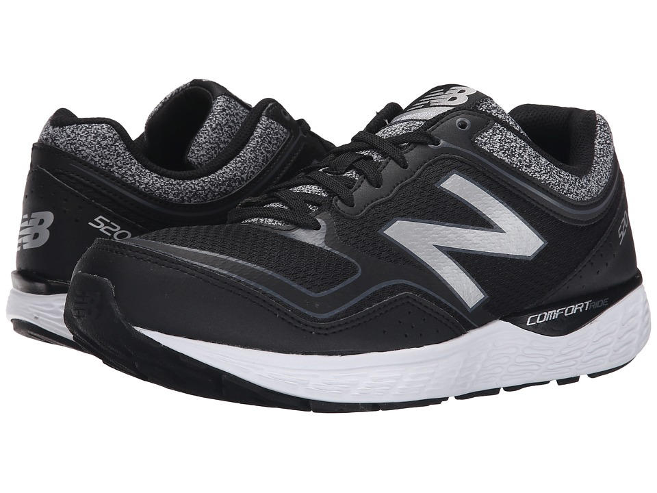 New Balance - M520V2 (Black/Grey) Men's Shoes