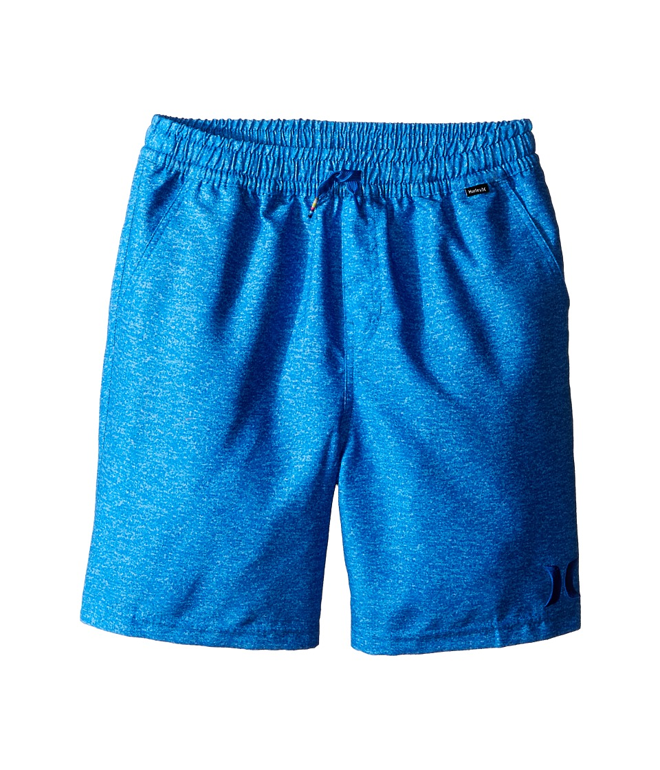 Hurley Kids - One and Only Volley Boardshorts (Big Kids) (Fountain Blue) Boy's Swimwear