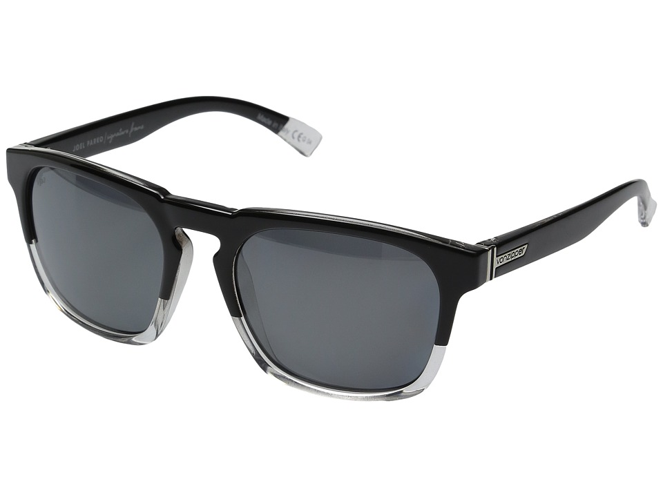 VonZipper - Banner Polarized (Joel Sig Black/Silver Polar) Sport Sunglasses