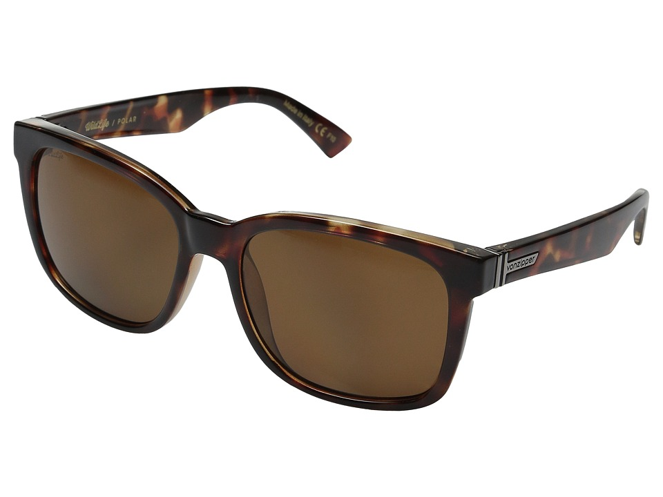 VonZipper - Howl Polarized (Tobacco Tortoise/Bronze Wildlife Polar) Sport Sunglasses