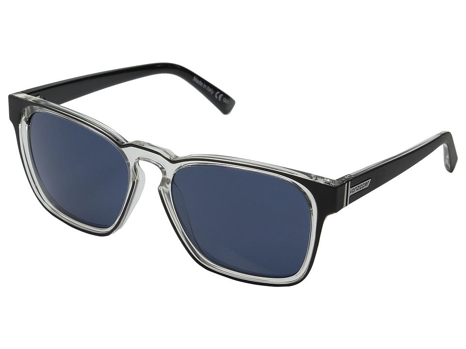 VonZipper - Levee (Black Crystal/Navy) Sport Sunglasses